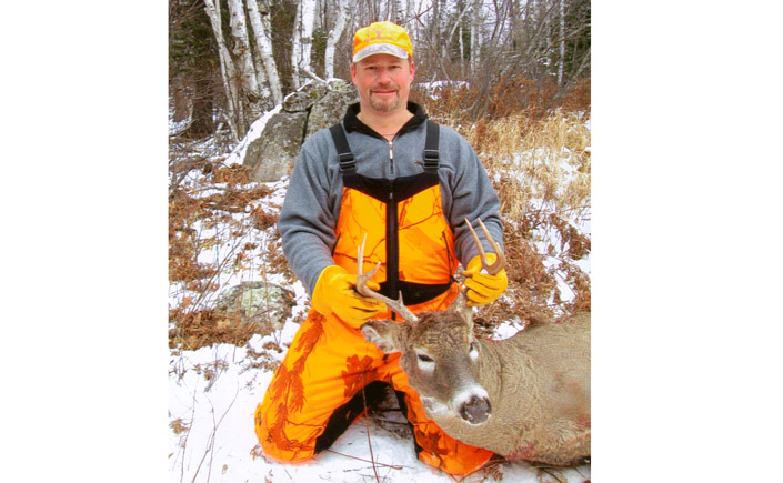 Doc's Son Ken with nice 2014 8-point buck